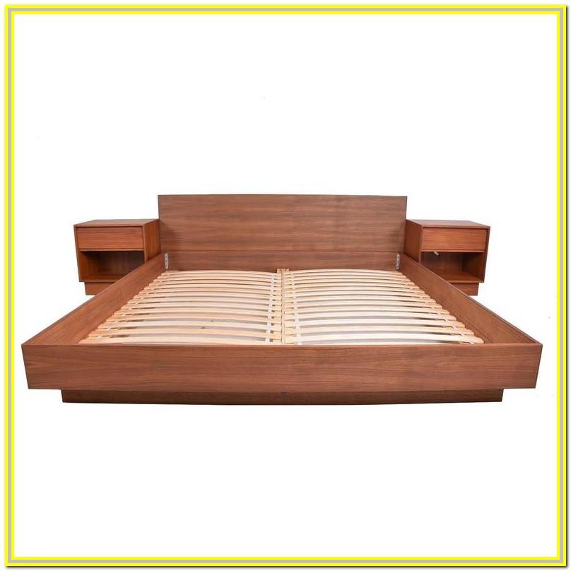 Mid Century Modern Cal King Bed Frame