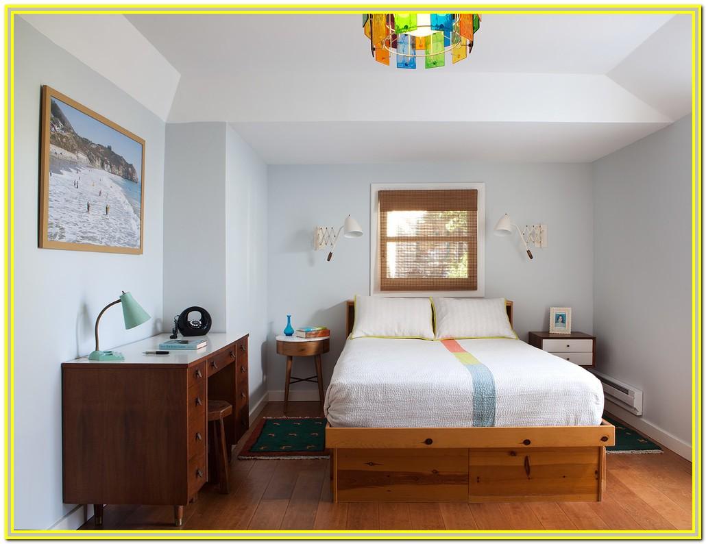 Mid Century Modern California King Bed
