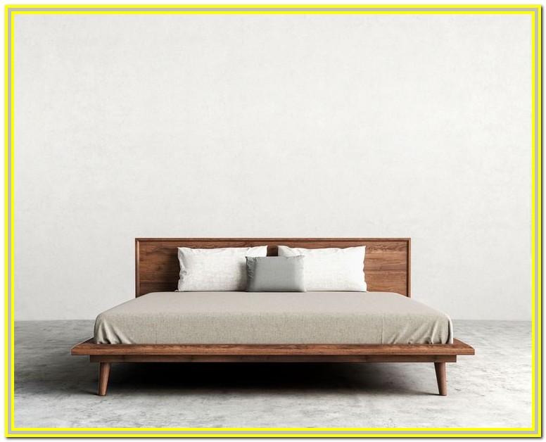 Mid Century Modern King Bed