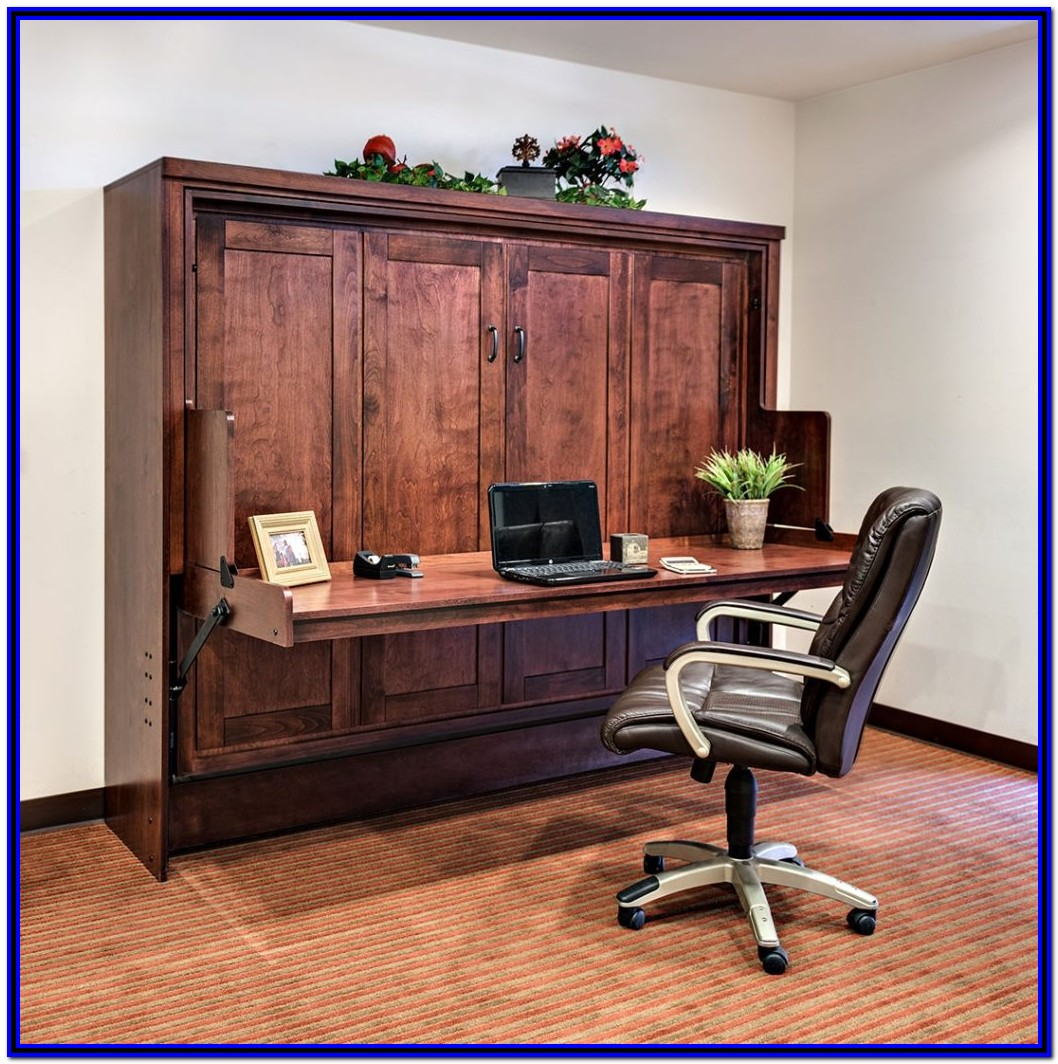 Murphy Bed And Desk Combo