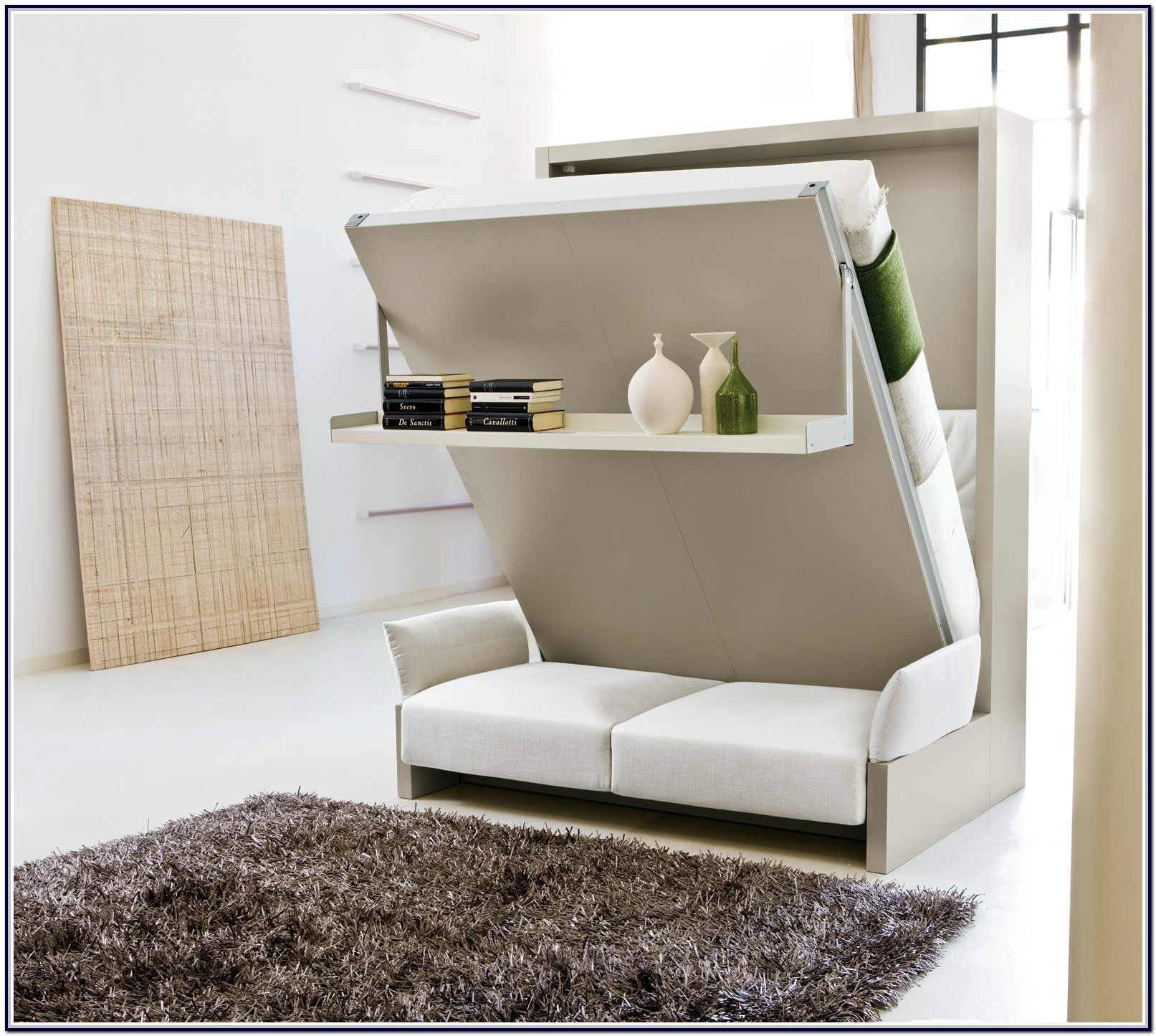 Murphy Bed With Couch Underneath