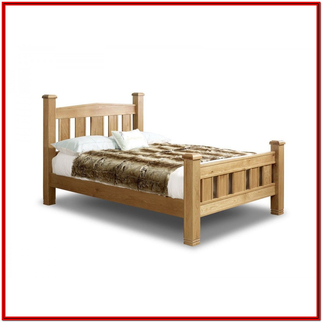 Oak Bed Frame King Size Uk