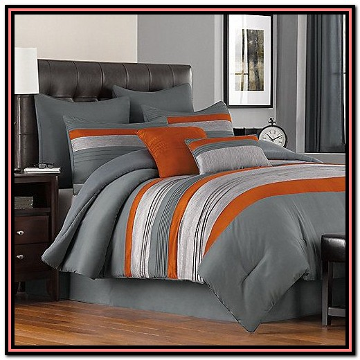 Orange And Grey Bedding Uk