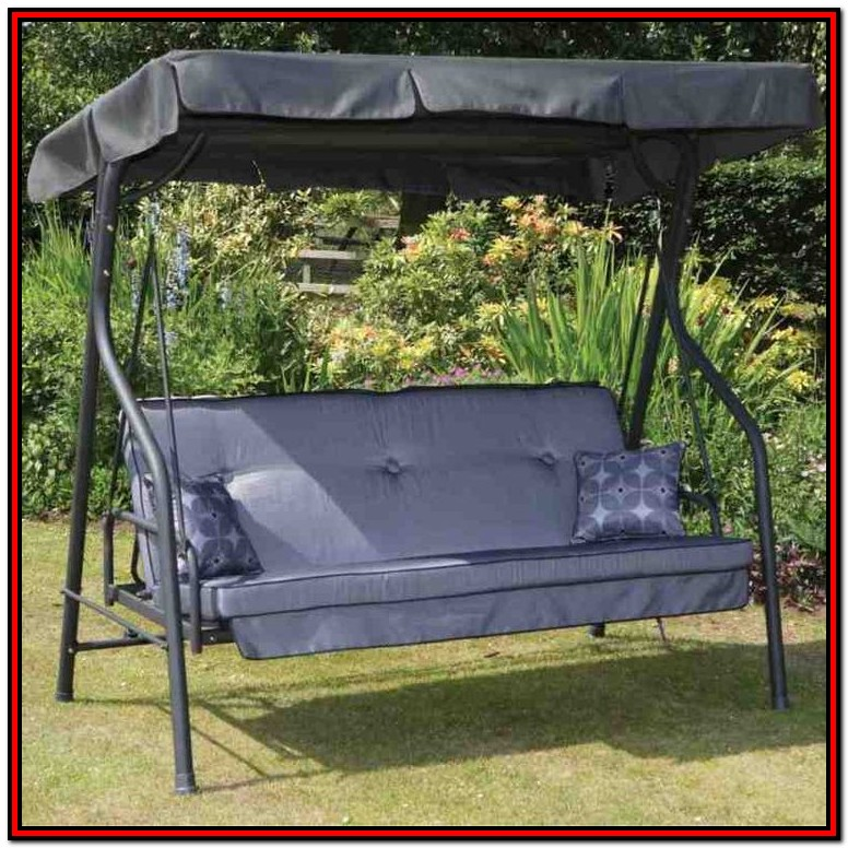 Outdoor Canopy Swing Bed