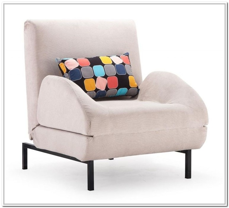 Oversized Chair That Turns Into A Twin Bed