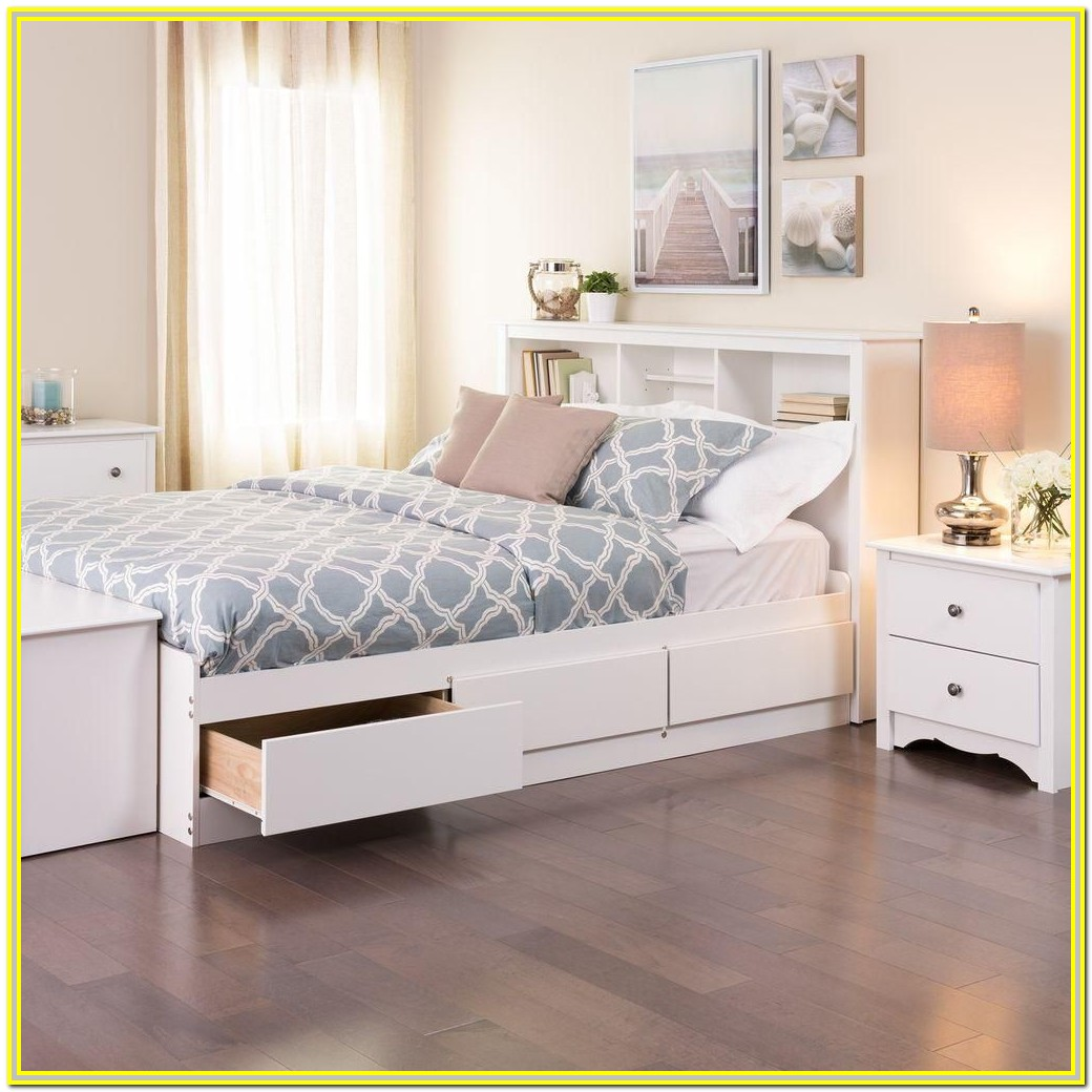 Platform Beds With Drawers Canada