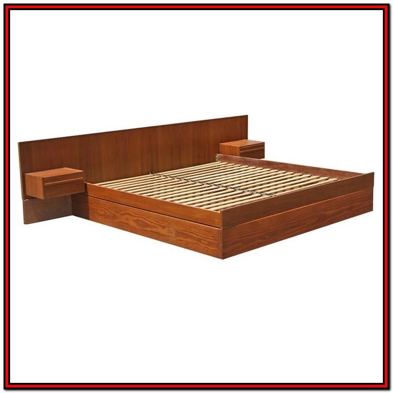 Platform King Bed Frame Plans