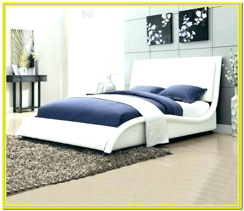 Queen Bed Frame And Headboard Set