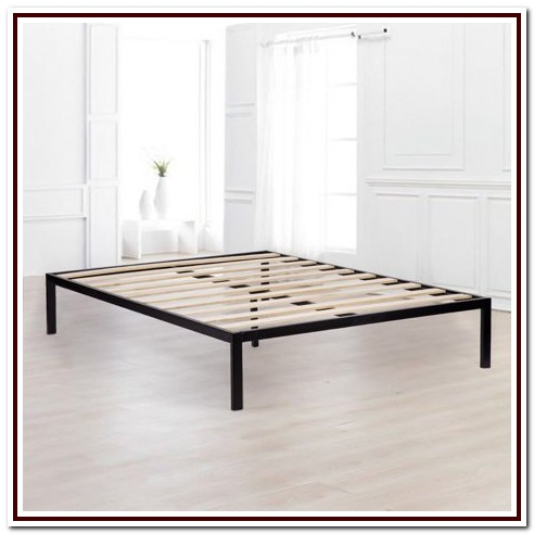 Queen Metal Platform Base Bed Frame