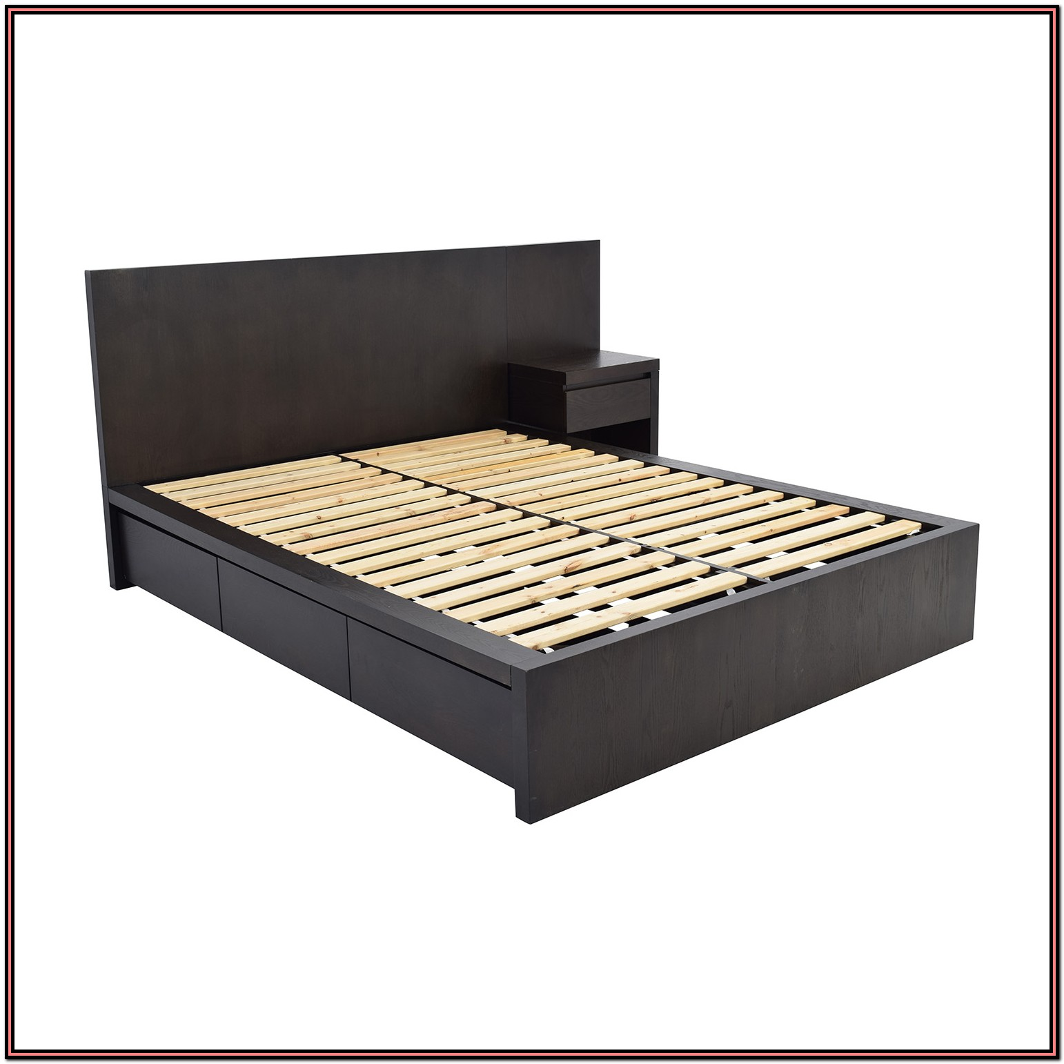 Queen Platform Beds With Storage And Headboard