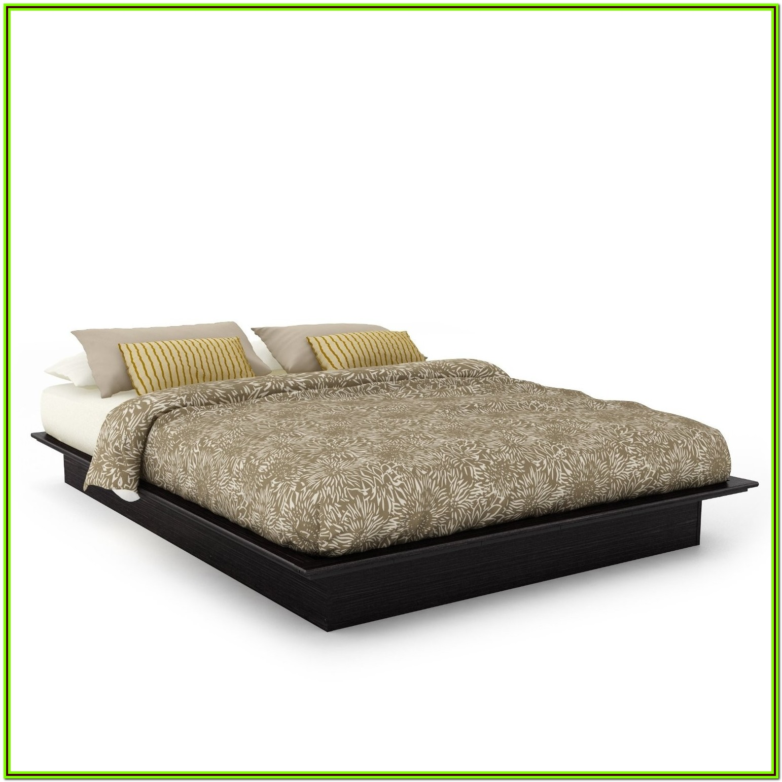 Queen Size Low Profile Bed Frames