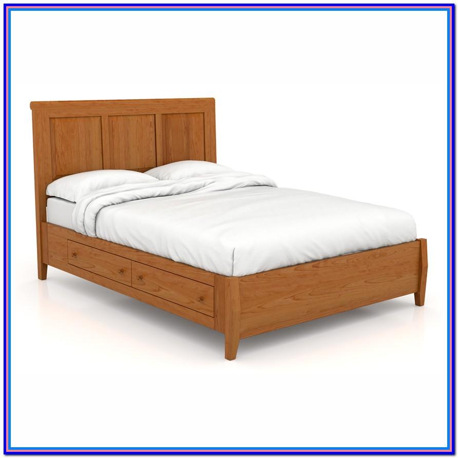Queen Size Platform Bed With Storage Plans
