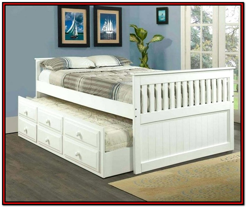 Queen Size Trundle Beds Furniture