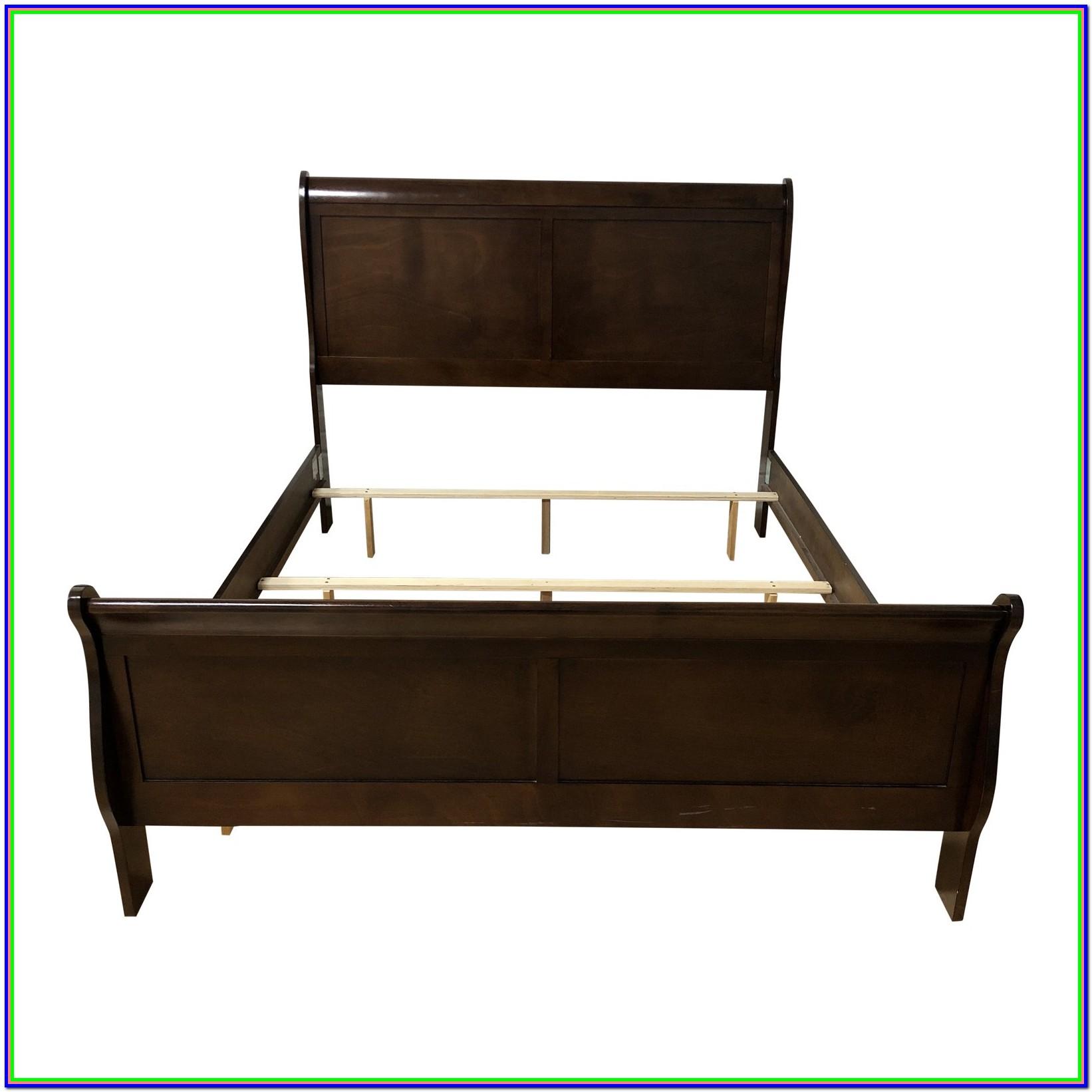 Queen Wood Bed Frame Design
