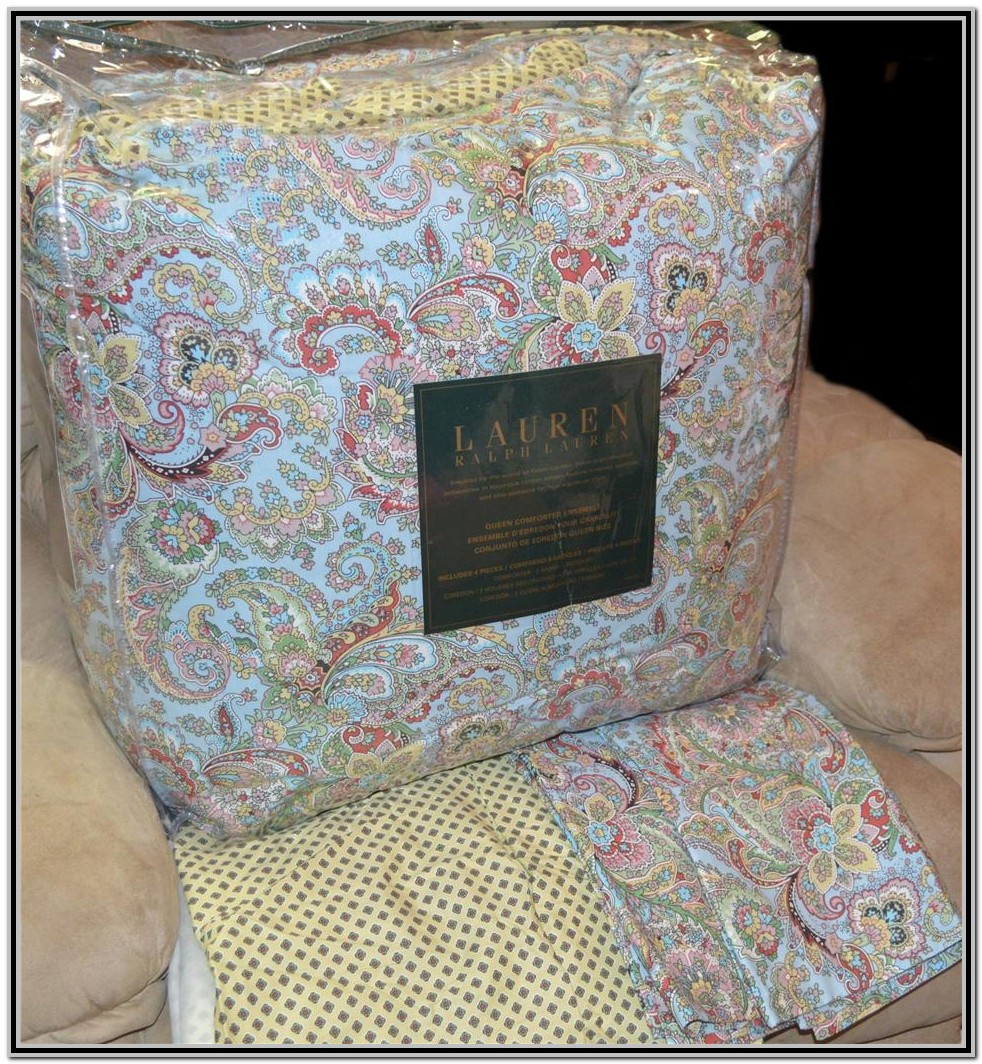 Ralph Lauren Paisley Bedding King