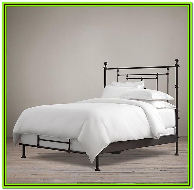 Restoration Hardware Iron Twin Bed
