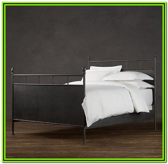 Restoration Hardware Twin Metal Bed