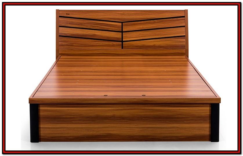 Royaloak Texas King Size Bed With Hydraulic Storage And Melamine Finish