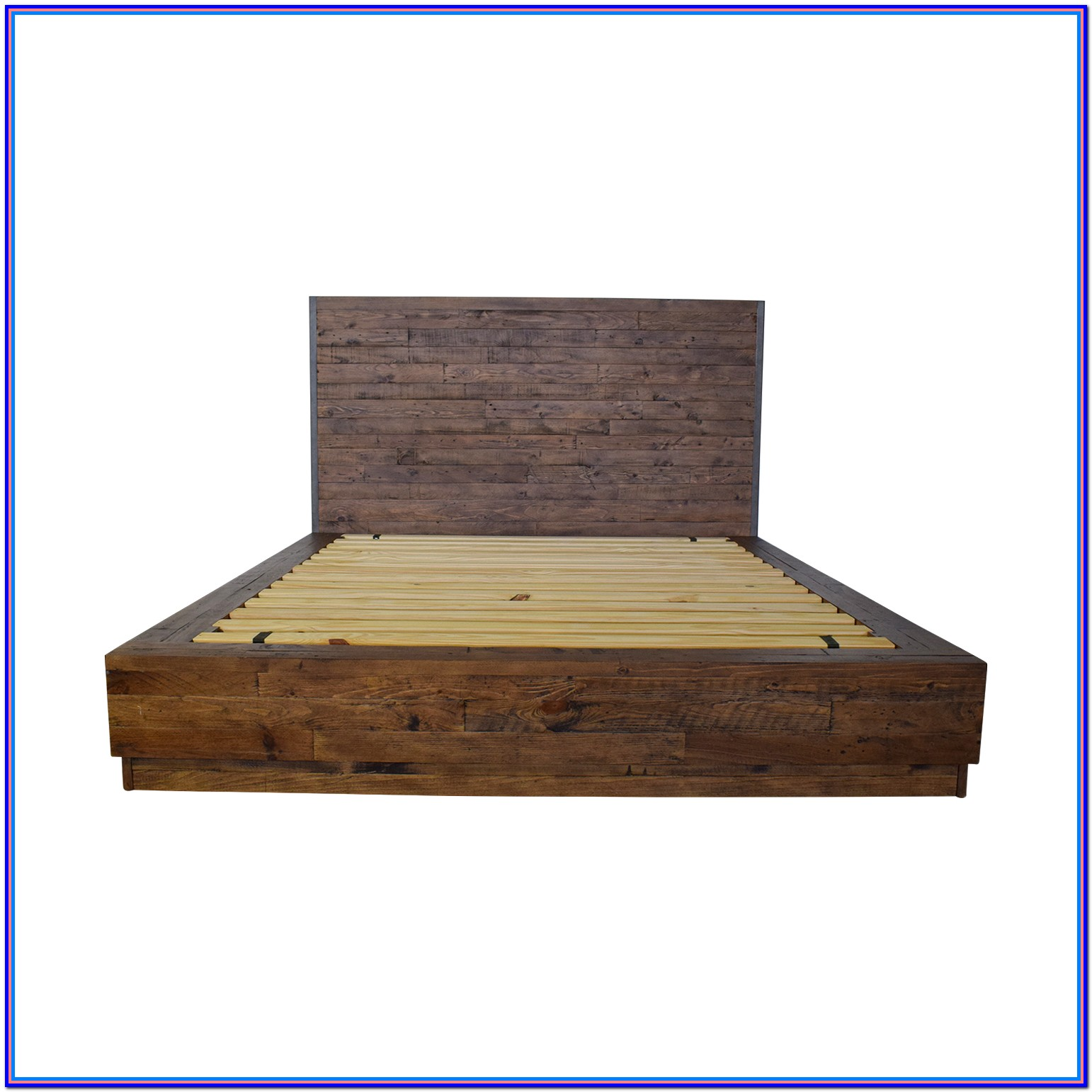 Rustic Wood Bed Frames Queen
