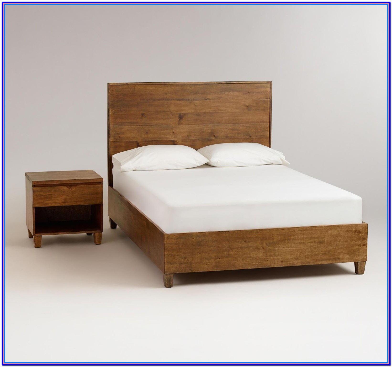 Rustic Wooden Bed Frames