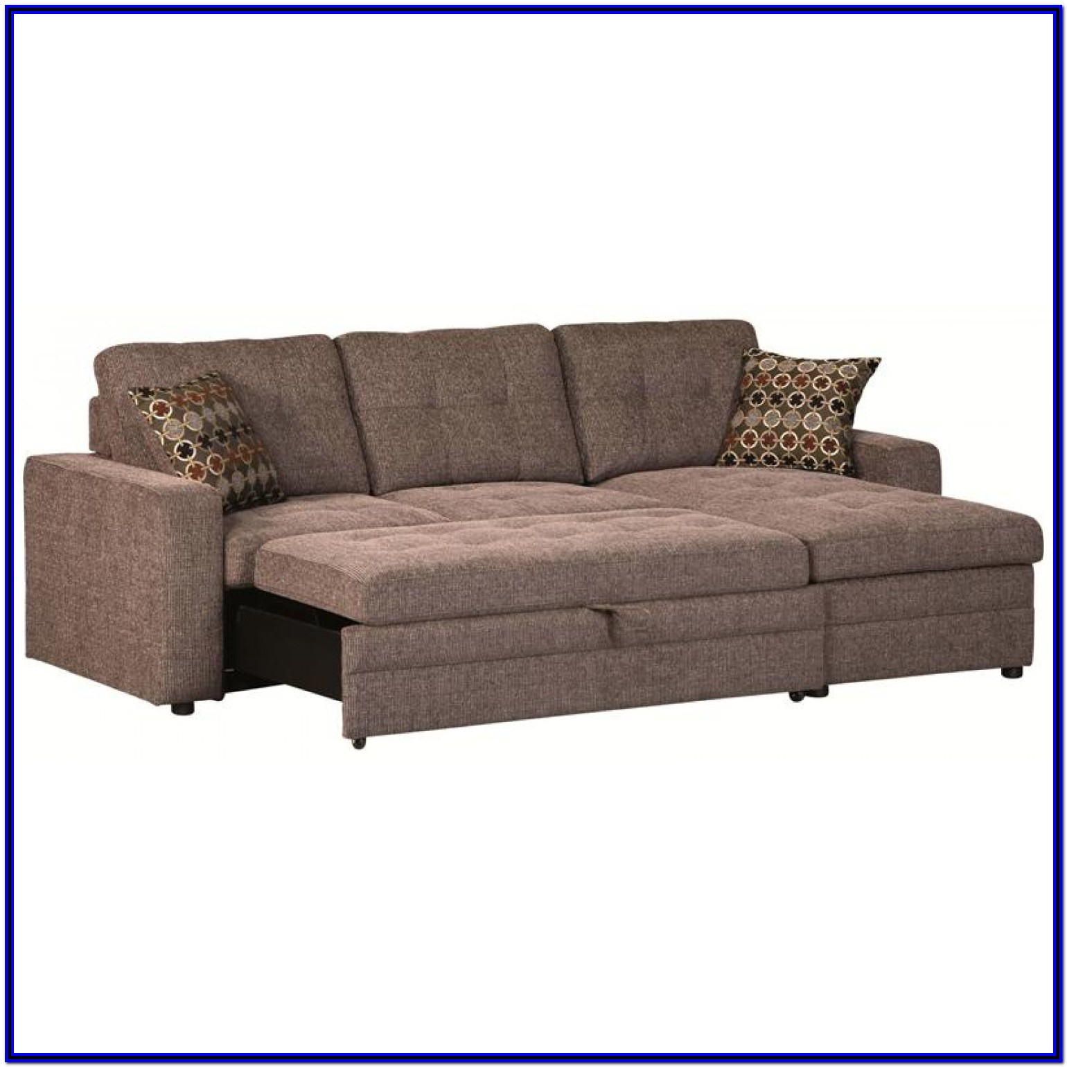 Sectional Couch Recliner Pull Out Bed