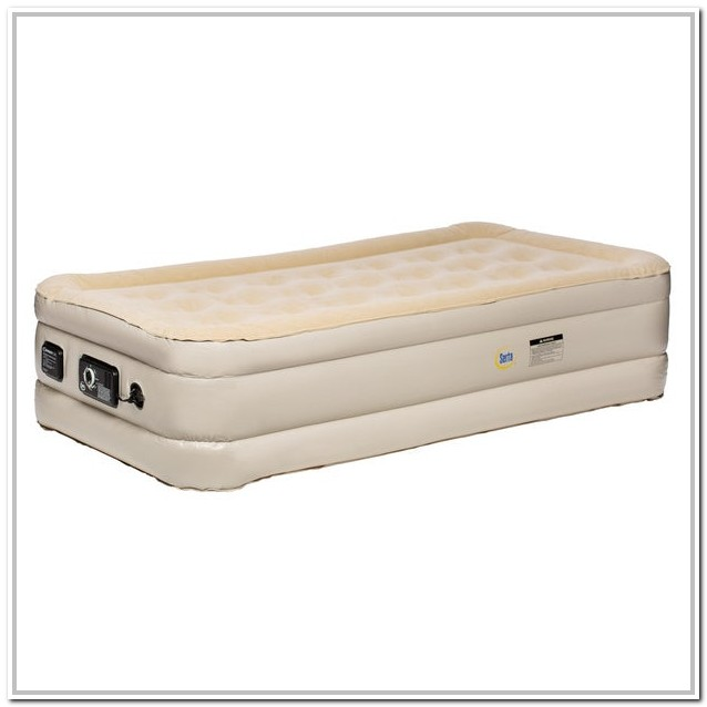Serta Raised Air Bed Twin