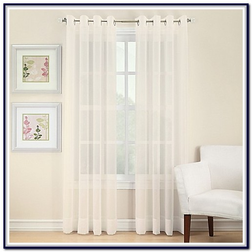 Sheer Curtain Panels Bed Bath Beyond