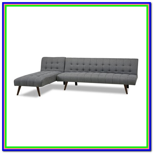 Convertible Sectional Storage Sofa Bed Bedroom Home