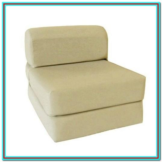 Sleeper Chair Folding Foam Bed Full Size