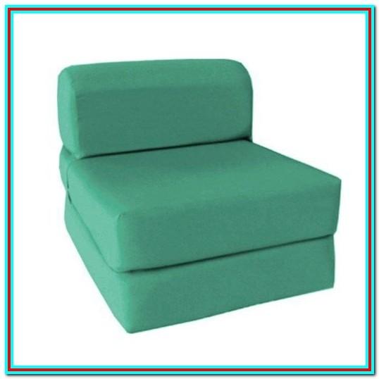 Sleeper Chair Folding Foam Bed Size
