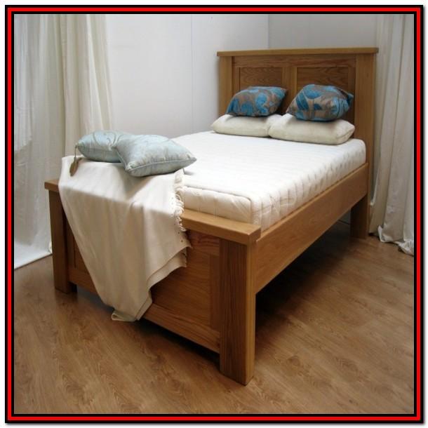 Solid Wood King Platform Bed Frame