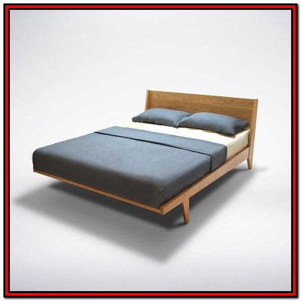 Solid Wood Platform Bed Frame King Diy