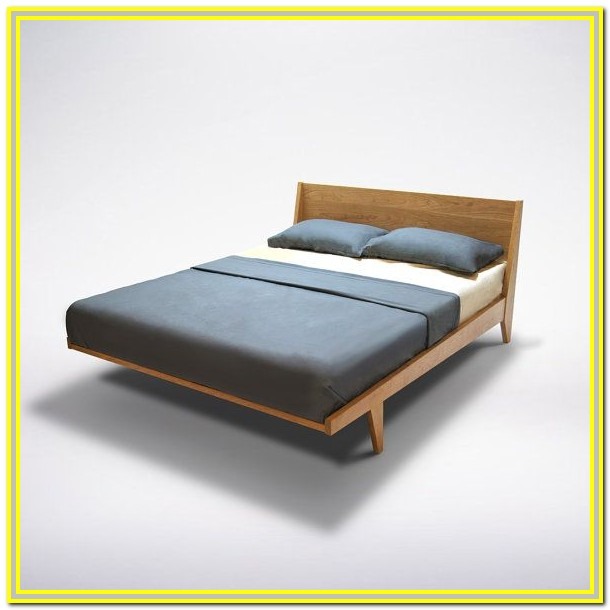 Solid Wood Queen Bed Frame Plans