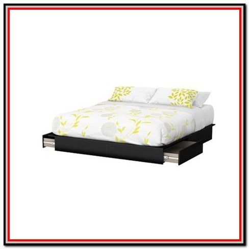 South Shore Flexible Platform Bed With Storage