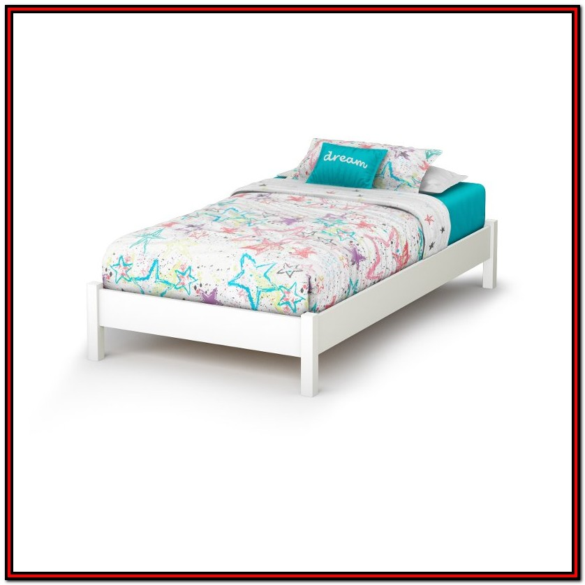 South Shore Platform Bed Twin