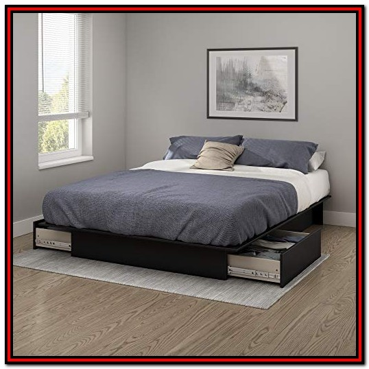 South Shore Queen Platform Bed Instructions
