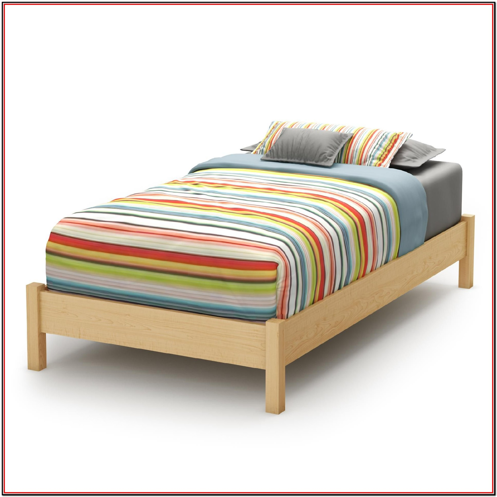 South Shore Step One Platform Bed Twin