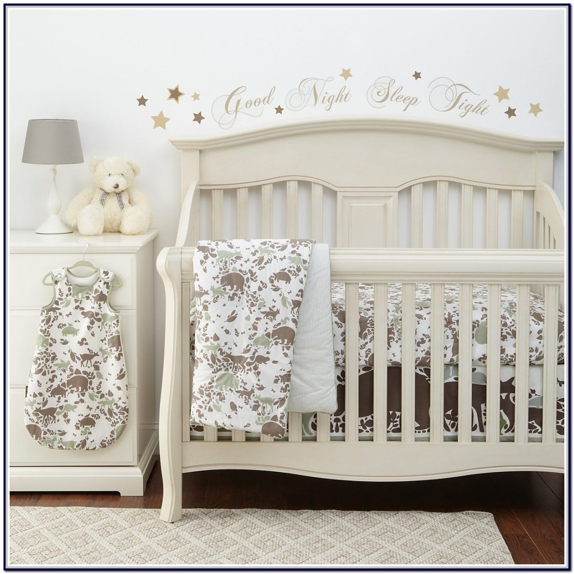 Sweet Jojo Crib Bedding Woodland