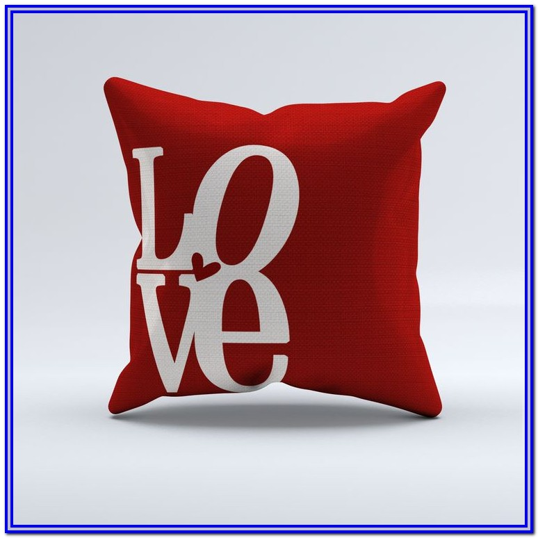 Throw Pillows For Bed With Words