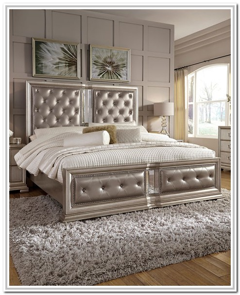 Tufted Cal King Bed