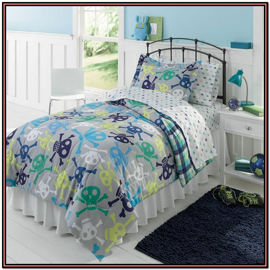 Twin Bed Comforter Set Boy