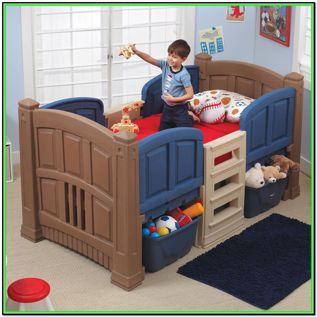 Twin Bed Frame Toddler Boy