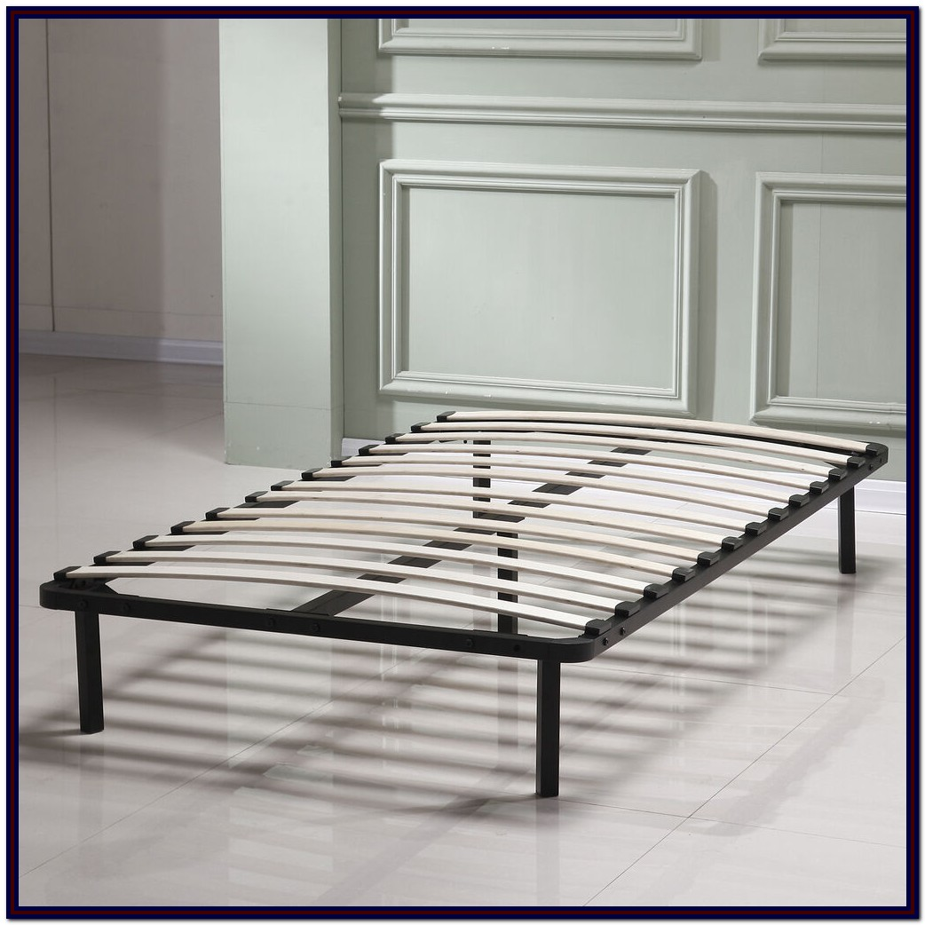 Twin Bed Frame Wood Slats