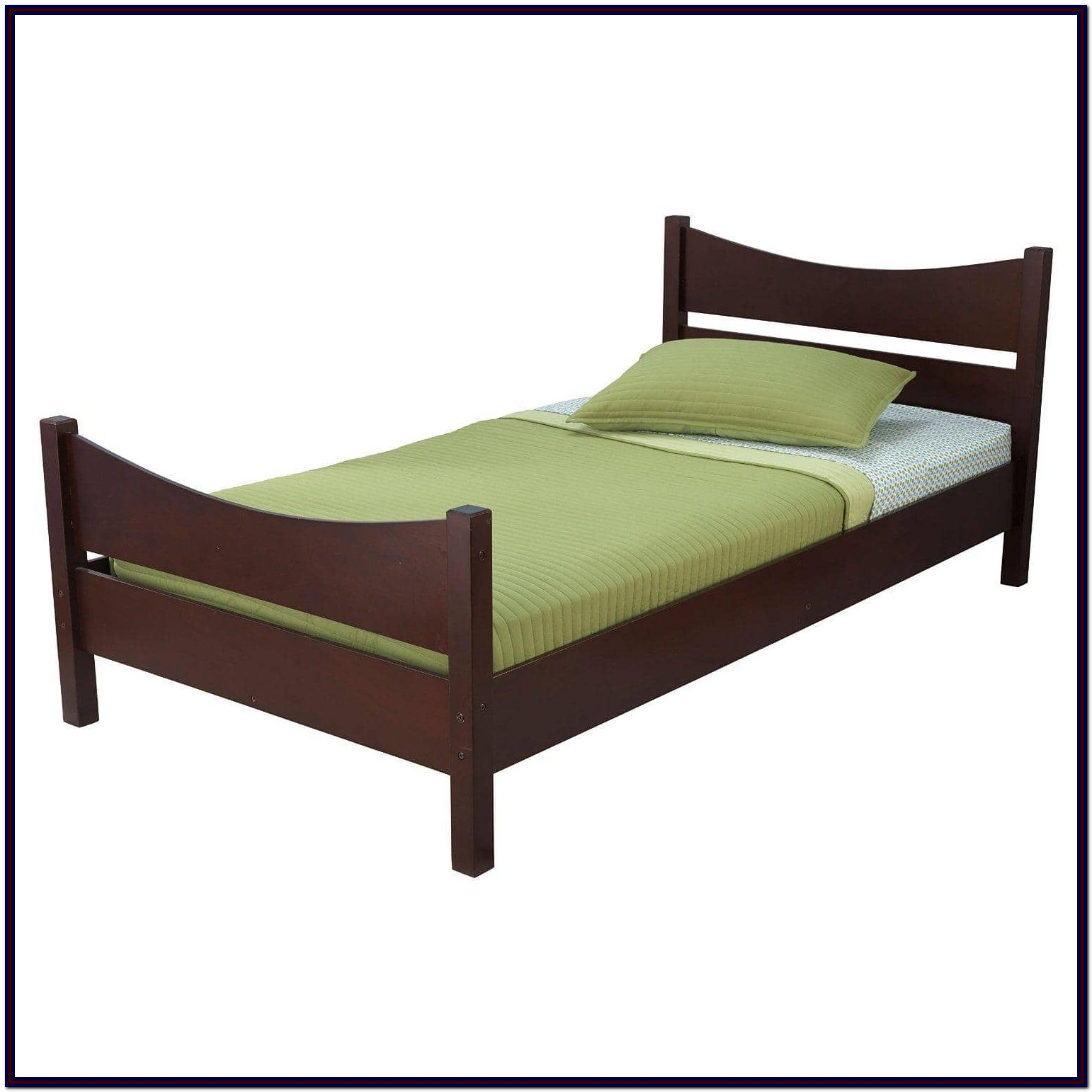 Twin Bed Frame Wooden