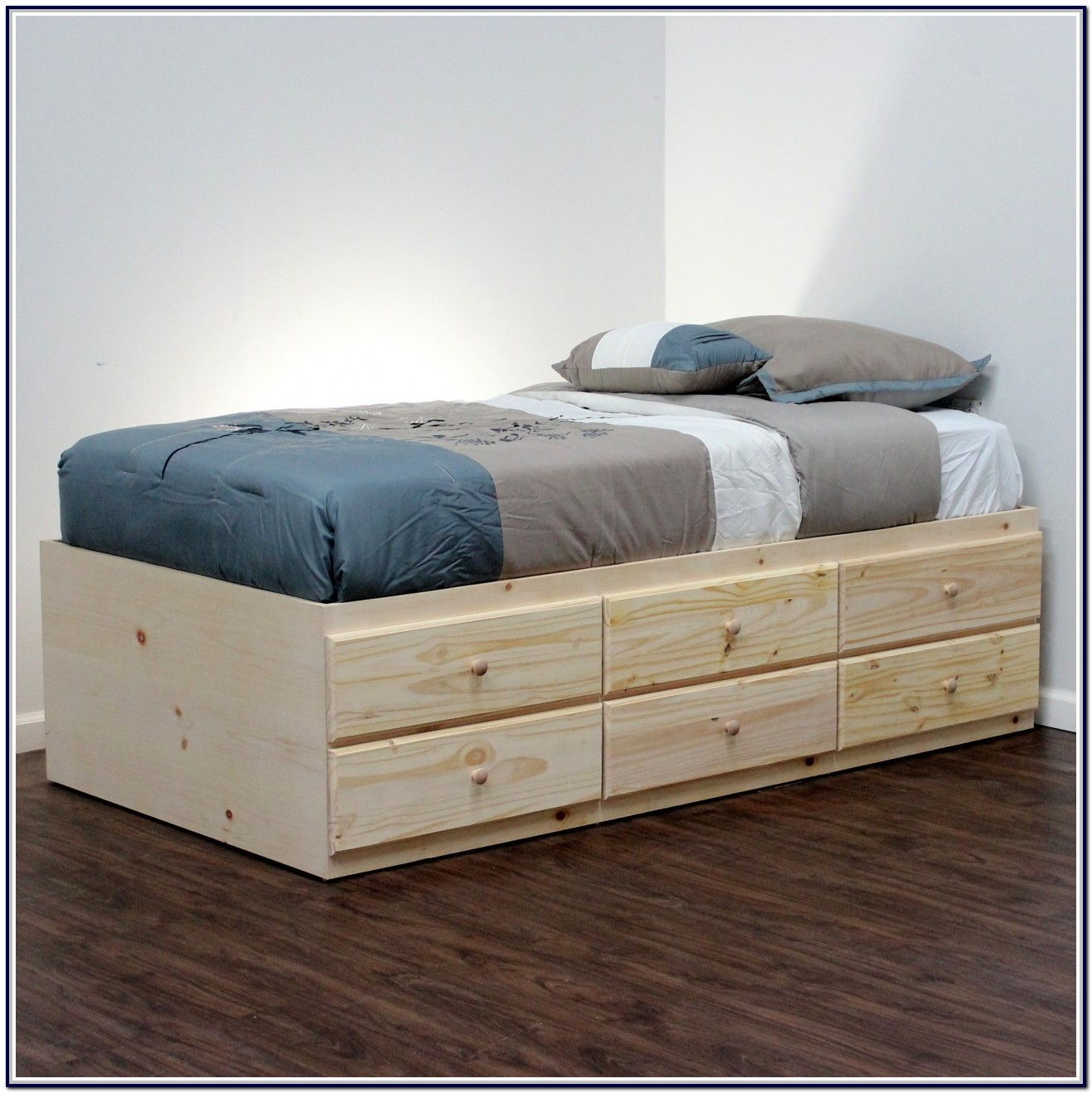 Twin Bed With Drawer Storage