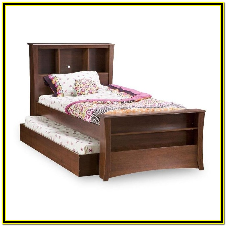 Twin Bed With Trundle And Drawers