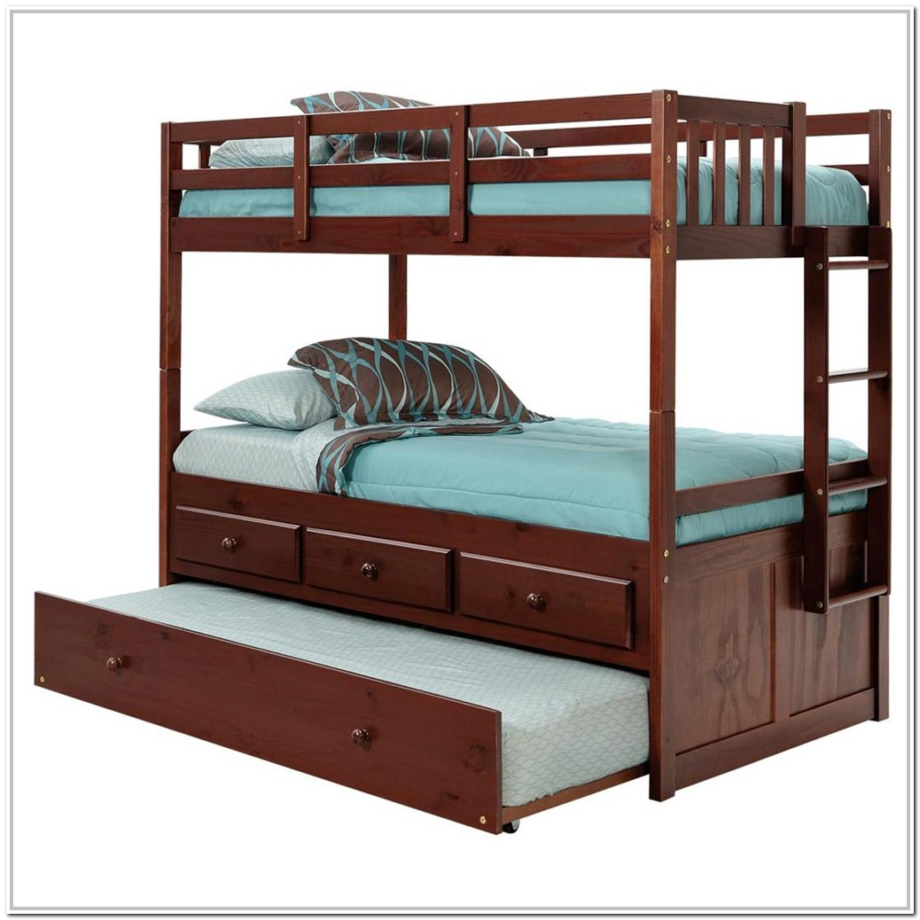 Twin Bunk Bed With Trundle Ikea