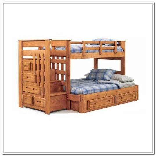 Twin Bunk Beds With Stairs