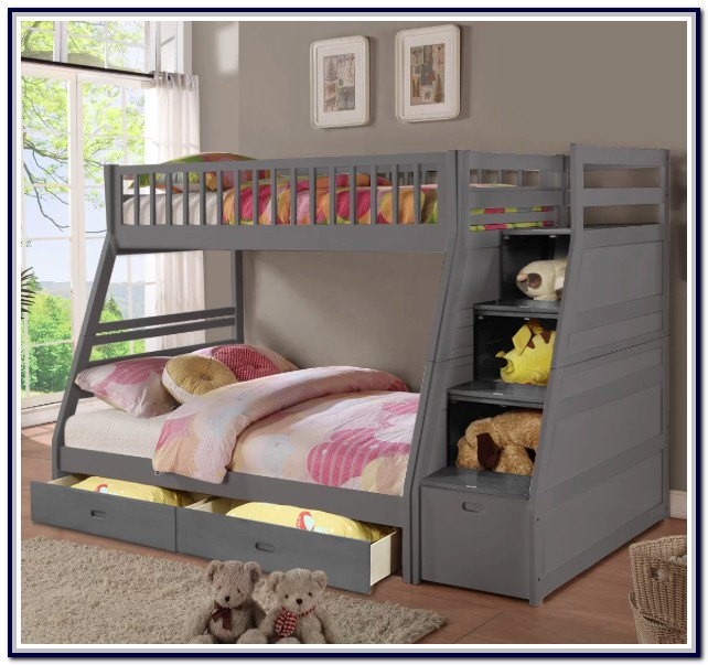 Twin Full Bunk Beds With Drawers