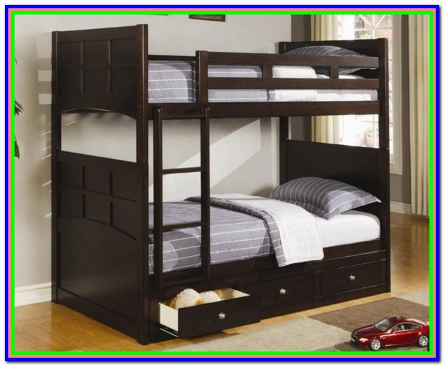 Twin Loft Bed With Storage Underneath